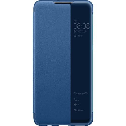 Huawei telefoonhoesje view flip cover P30 Lite Blauw