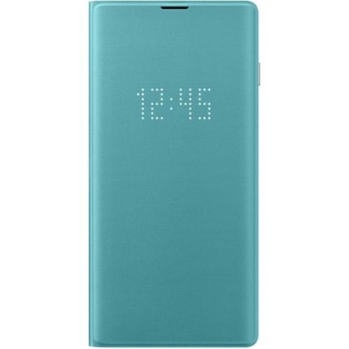 Samsung telefoonhoesje LED View Cover voor Galaxy S10 Groen