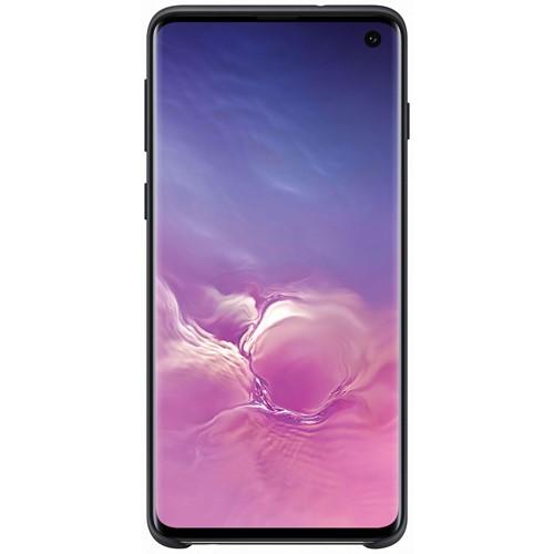 Samsung telefoonhoesje Silicone Cover voor Galaxy S10 Zwart