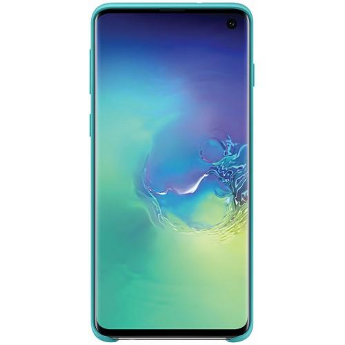 Samsung telefoonhoesje Silicone Cover Galaxy S10 Groen