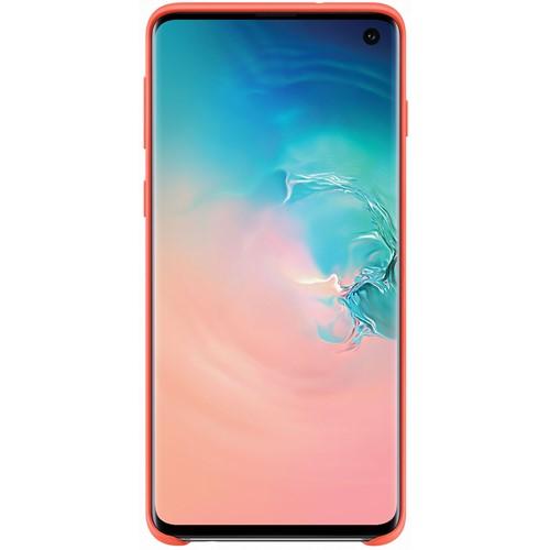 Samsung telefoonhoesje Silicone Cover voor Galaxy S10 Roze