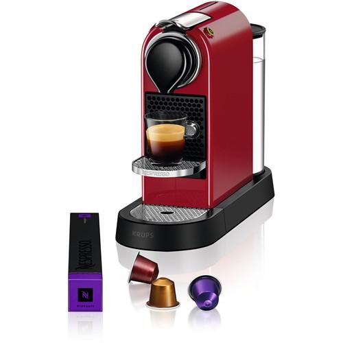 Nespresso Krups koffieapparaat CitiZ XN7415 (Rood) - Prijsvergelijk