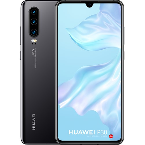 Huawei smartphone P30 Zwart