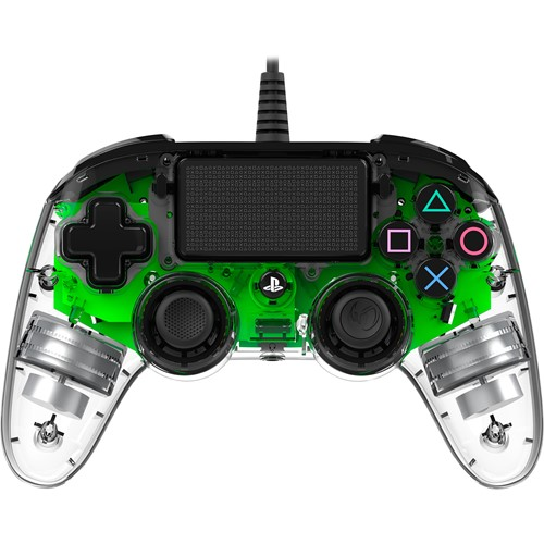 Nacon Bedrade Controller PS4 Transparant Groen