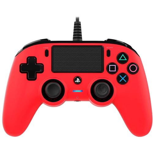 Nacon Bedrade Controller PS4 Rood