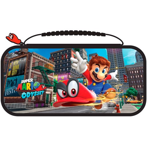 Bigben Officiële Nintendo Switch travelcase Super Mario Odyssey