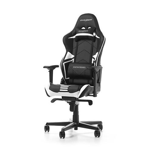 DXRacer Racing Pro R131 Gamestoel Zwart Wit