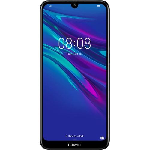 Huawei smartphone Y6 2019 Lebara SIM kaart Zwart