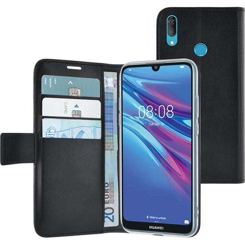 Azuri telefoonhoesje Wallet Case voor Huawei Y6 2019 Zwart