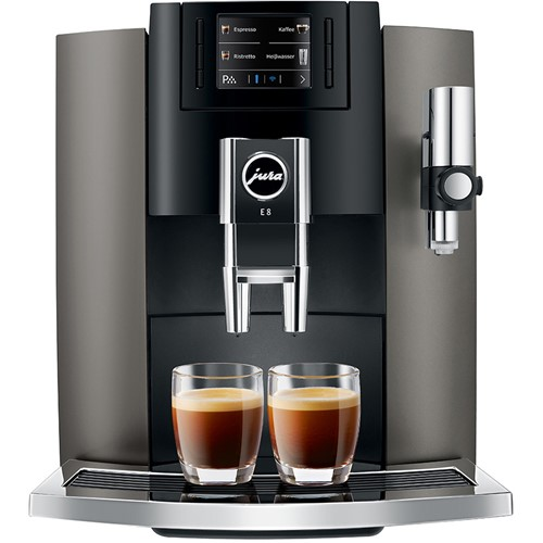Jura espresso apparaat E8 (Dark Inox) - Prijsvergelijk