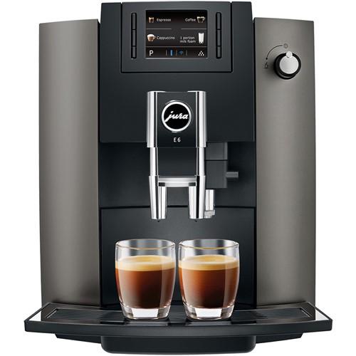 Jura espresso apparaat E6 (Dark Inox) - Prijsvergelijk