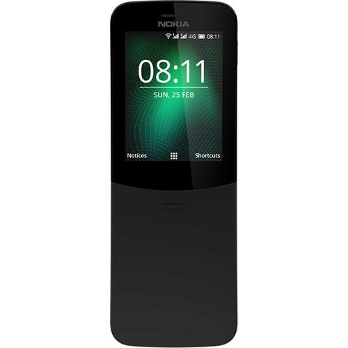 Nokia smartphone 8110 4G SS + Lebara SIM-kaart (Zwart)