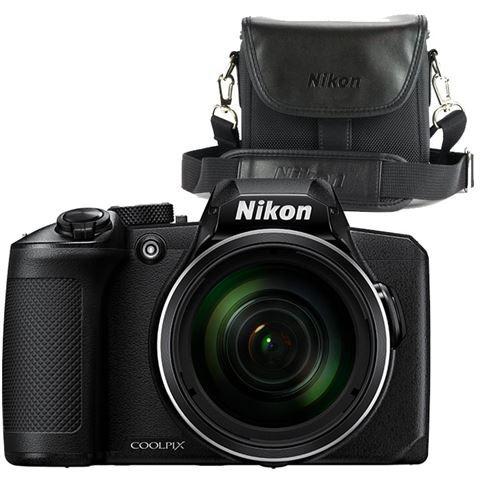 Nikon compact camera COOLPIX B600 Zwart Draagtas