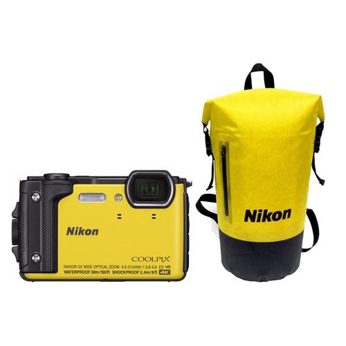Nikon COOLPIX W300 Geel Waterbestendige rugtas
