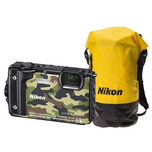 Nikon COOLPIX W300 Camouflage Waterbestendige rugtas