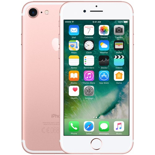 Renewd Apple iPhone 7 128 GB Rosegoud Refurbished