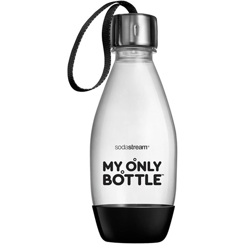 Sodastream fles My Only Bottle Zwart