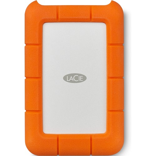 LaCie externe harde schijf Rugged USB C 2TB