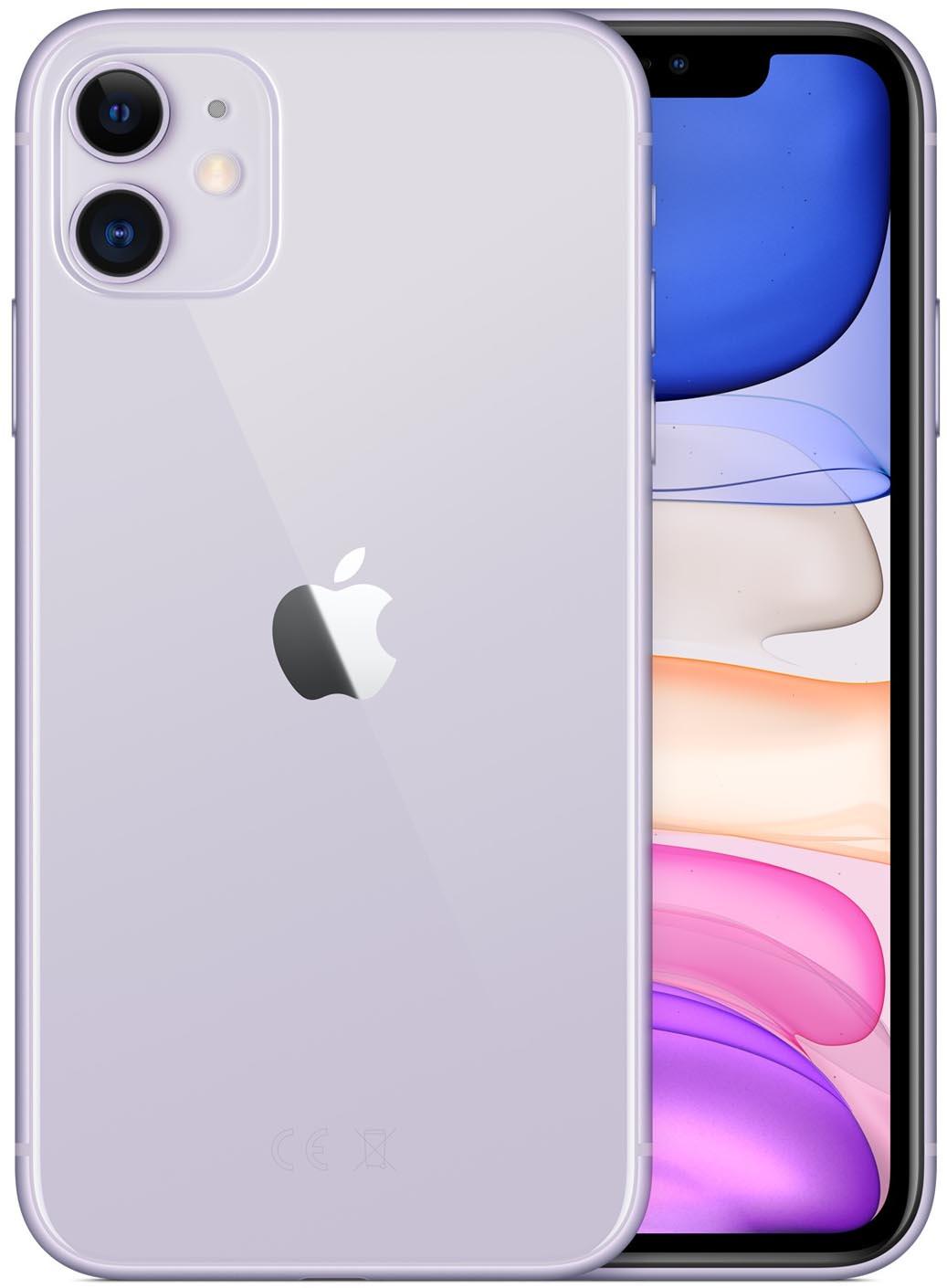 Apple iPhone 11 - 64GB (Paars)