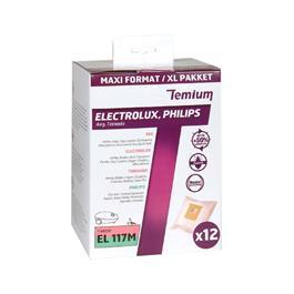 Temium stofzuigerzakken EL117M 12 stuks