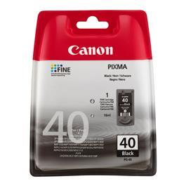Canon cartridge PG 40 BK zwart