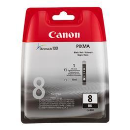 Canon cartridge CLI 8 BK zwart