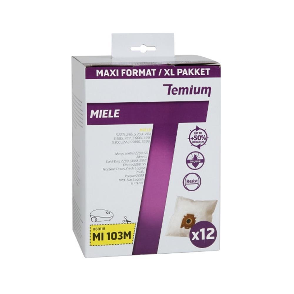 Temium stofzuigerzakken MI103M (12 stuks)