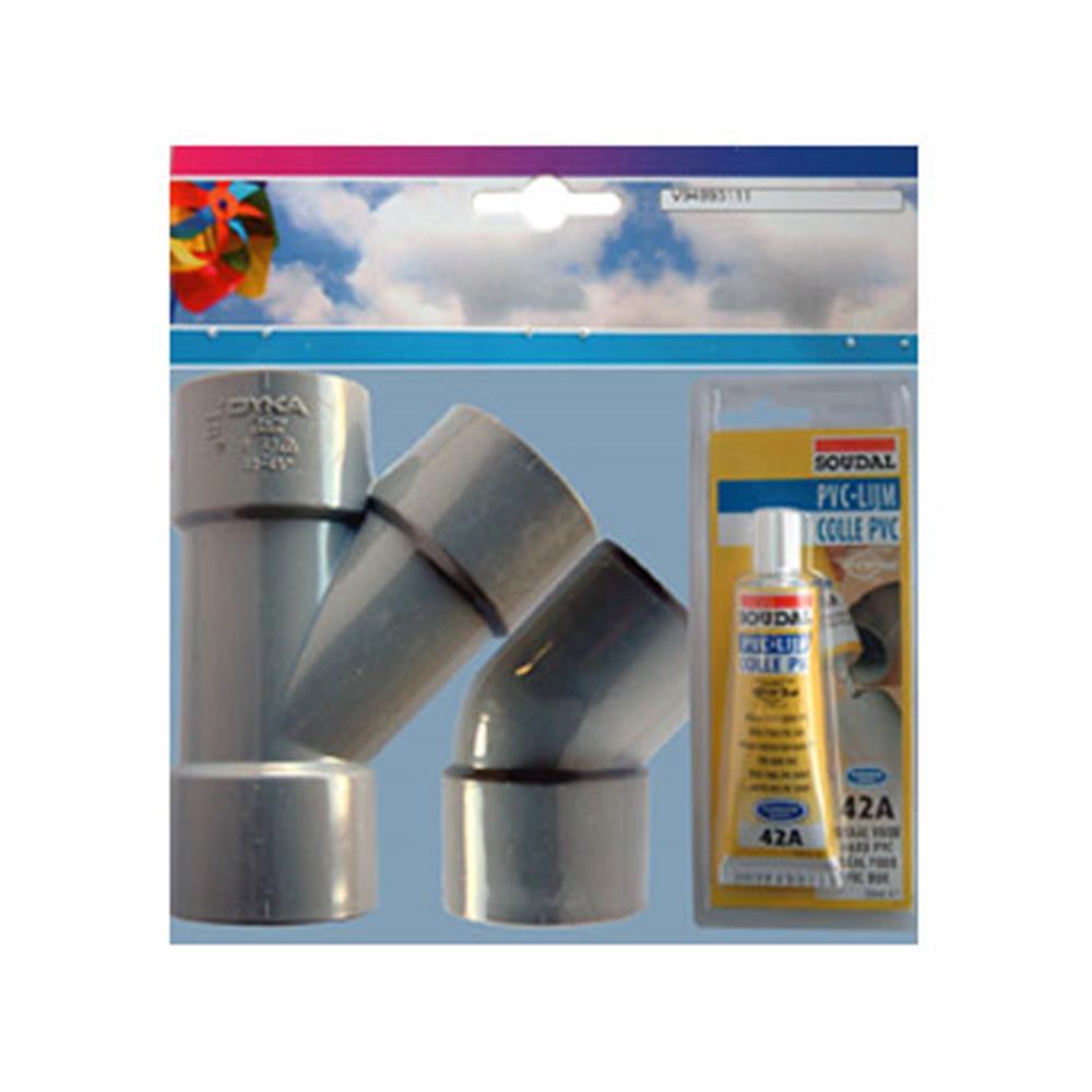 Nedco afvoersplitser 94993111 (set)