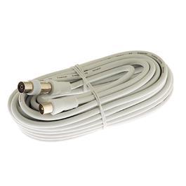 Temium coax kabel adapter TTV10B 10 m
