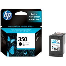 HP cartridge 350 BK zwart