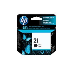 HP cartridge 21 BK zwart