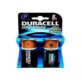 Duracell batterijen LR20/D Ultra Power (2 stuks)