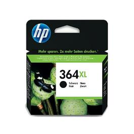 HP XL cartridge 364 XL BK zwart