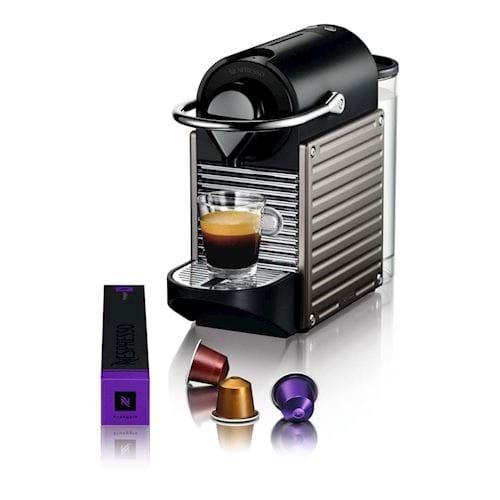 Nespresso Krups koffieapparaat Pixie XN3005 (Titanium)