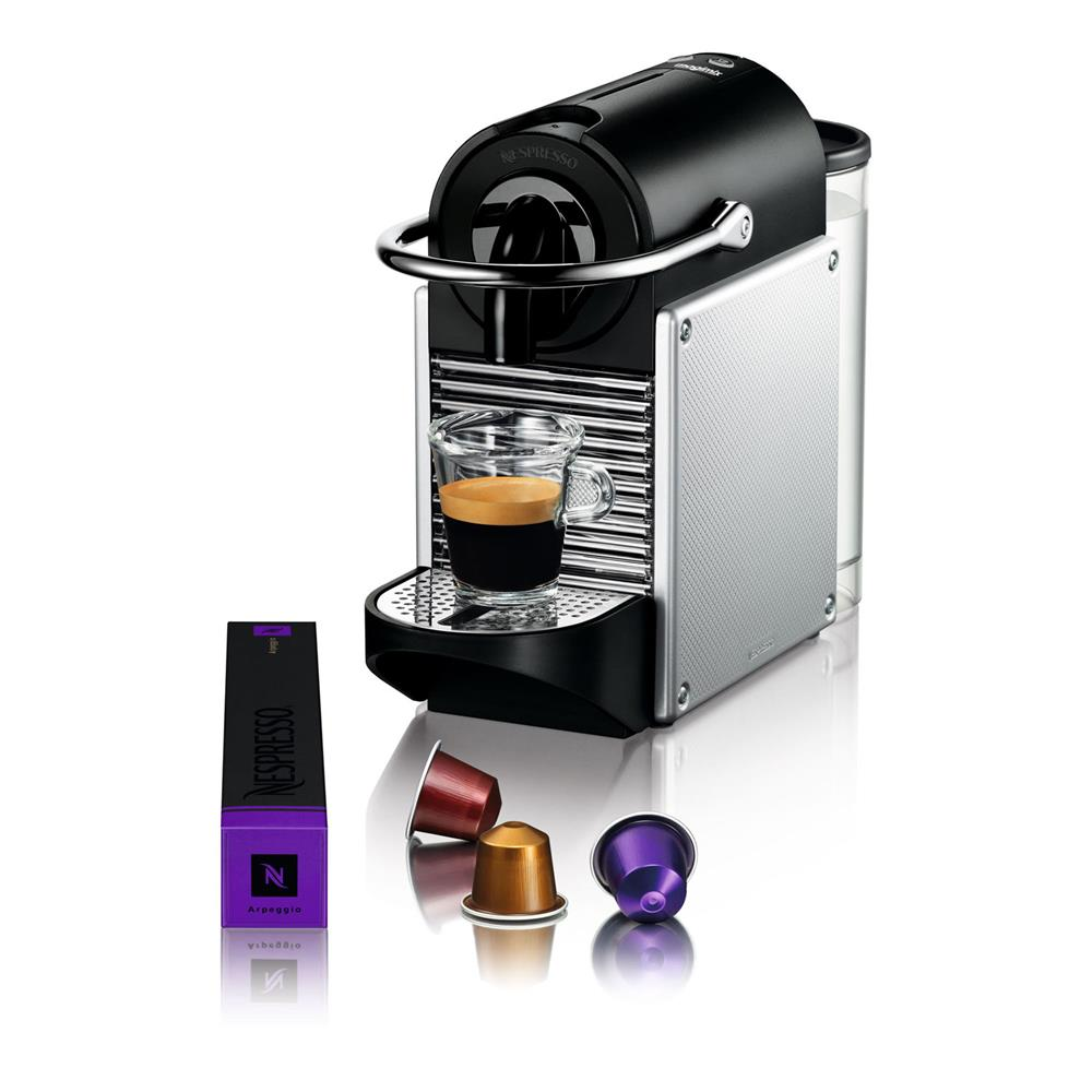magimix nespresso apparaat m110 pixie aluminium. Black Bedroom Furniture Sets. Home Design Ideas