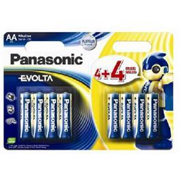 Panasonic penlight batterijen LR6EGE 4+4 (8 stuks)