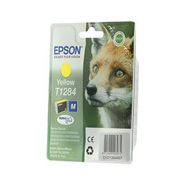 Epson cartridge T1284 Y geel