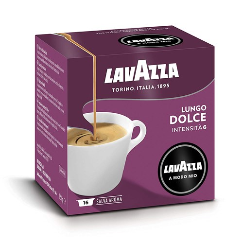 Lavazza koffiecups Lungo Dolce