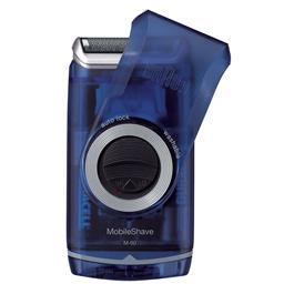 Braun scheerapparaat MobileShave Pocket M 60 blauw