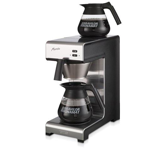 Bravilor koffiezetapparaat Mondo incl. 2 glazen kannen