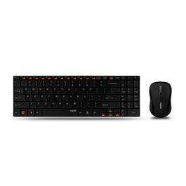 Rapoo toetsenbord/muis combinatie 9060 (zwart)
