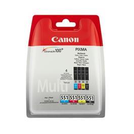 Canon cartridge voordeelpak CLI 551 BK 3CL