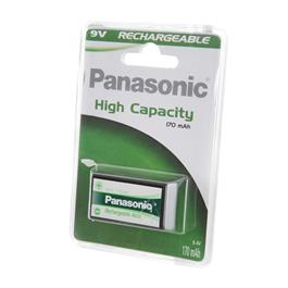 Panasonic block batterij 9V P22P 1 stuk