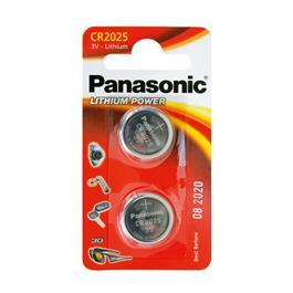 Panasonic knoopcel batterijen CR2025 (2 stuks)