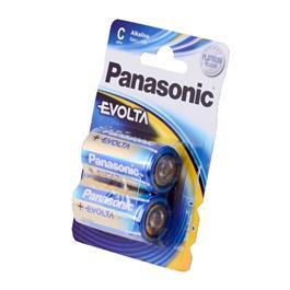 Panasonic C Cell batterij LR14EGE2BP 2 stuks