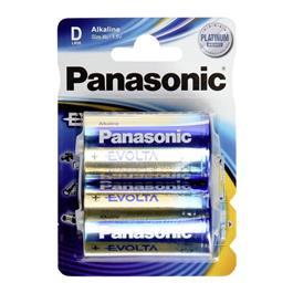 Panasonic batterijen Evolta LR20/D (2 stuks)