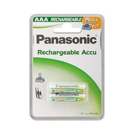 Panasonic oplaadbare mini penlight batterijen LR03/AAA (2 stuks)