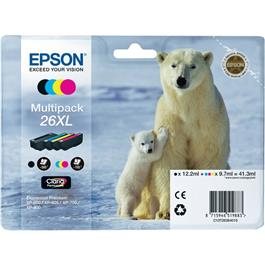 Epson cartridge voordeelpak T2636 XL BK 3CL