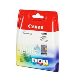 Canon cartridge voordeelpak CLI8 3CL