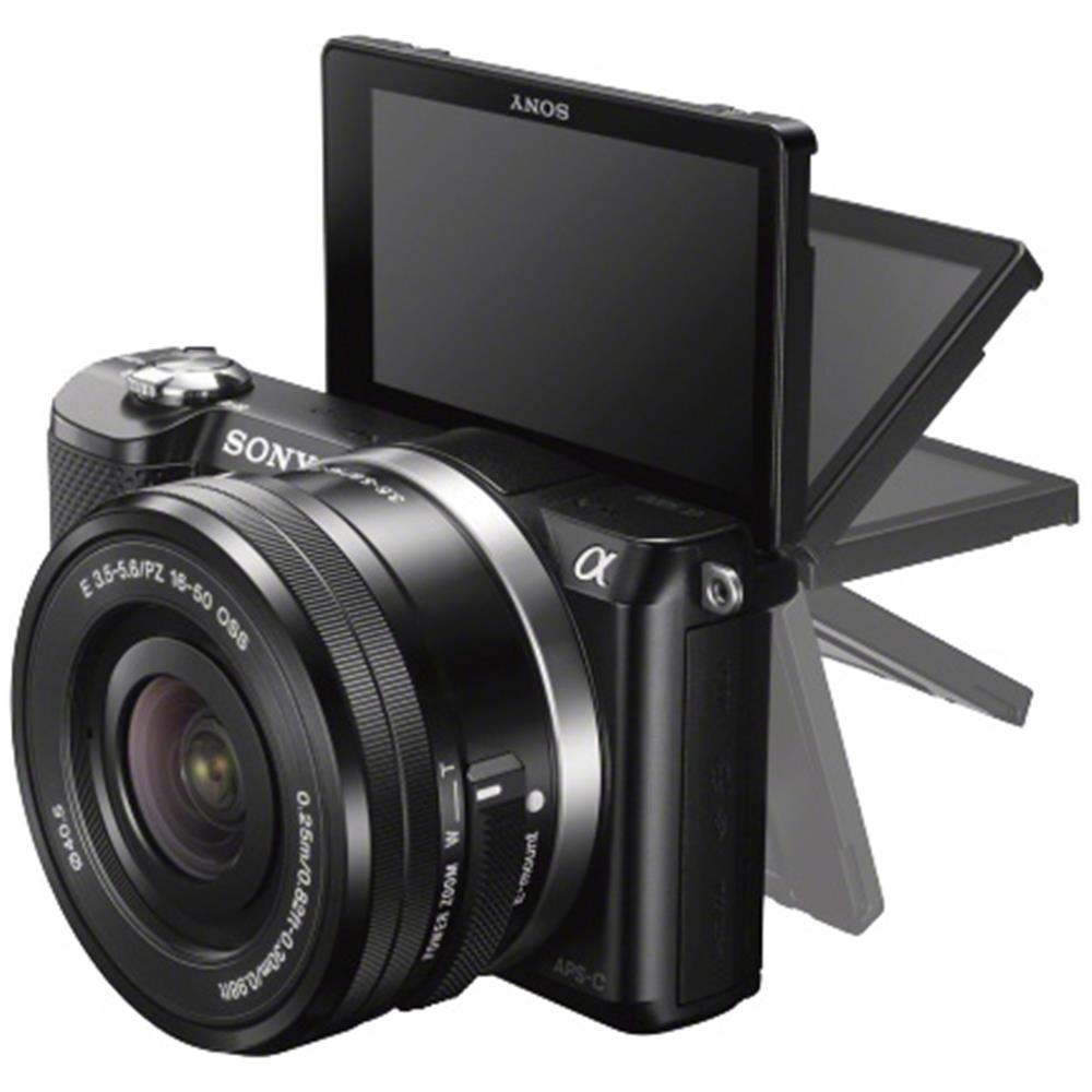 Sony systeemcamera a5000 16-50mm zwart